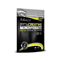 BIOTECH USA 100% Creatine Monohydrate Плик - 500 гр
