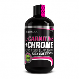 BIOTECH USA L-Carnitine + Chromium - 500 мл