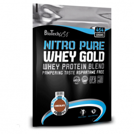 BIOTECH USA Nitro Pure Whey Gold - 454 гр