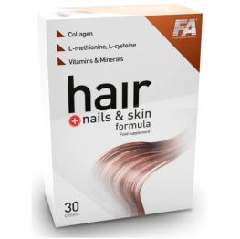 FA Nutrition Hair Plus Nails & Skin Formula - 30 таб