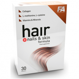 FA Nutrition Hair Plus Nails & Skin Formula - 30 таб
