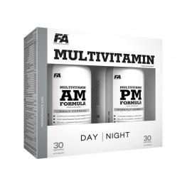 FA Nutrition Multivitamin AM & PM Formula - 2 x 90 caps