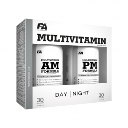 FA Nutrition Multivitamin AM & PM Formula - 2 x 90 caps