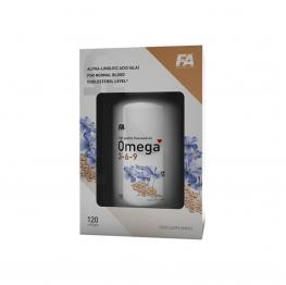 FA Nutrition Omega 3-6-9 - 120 caps