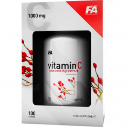 FA Nutrition Vitamin C 1000 mg with Rose Hips Extract - 100 таб