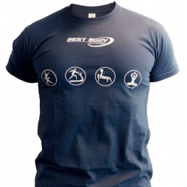 Best Body T-shirt Blue