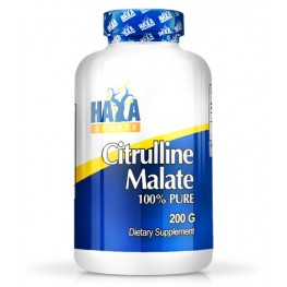 HAYA LABS Sports Citrulline Malate 200g.