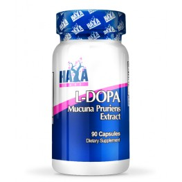 HAYA LABS L-DOPA /Mucuna Pruriens Extract/ - 90 Caps.