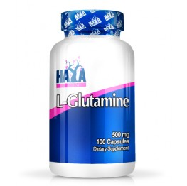 HAYA LABS L-Glutamine 500 mg / 100 caps.