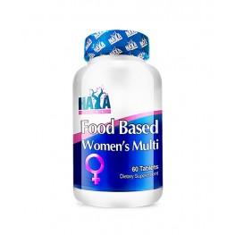 HAYA LABS Food Based Women's Multi / 60tabs.
