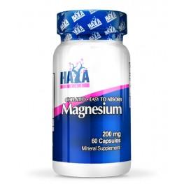 HAYA LABS Chelated Magnesium 200mg. / 60caps.