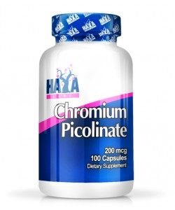 HAYA LABS Chromium Picolinate 200mcg. / 100 caps.