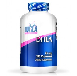 HAYA LABS DHEA 25mg. / 180 Caps.