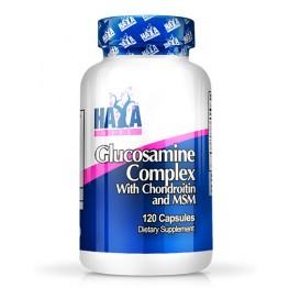 HAYA LABS Glucosamine Chondroitin & MSM Complex / 120 Caps.