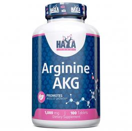 HAYA LABS Arginine AKG - 100 tabs