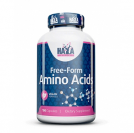 HAYA LABS Free Form Amino Acids - 100 caps