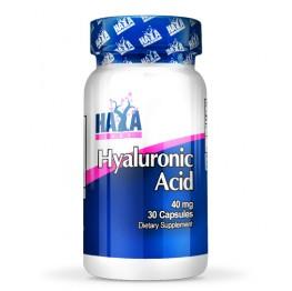 HAYA LABS Hyaluronic Acid 40 mg / 30 Caps.