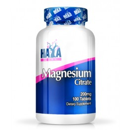 HAYA LABS Magnesium Citrate 200 mg / 100 Tabs