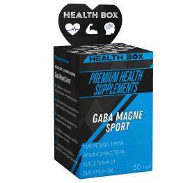 HEALTH BOX Gaba Magne Sport - 50 таб
