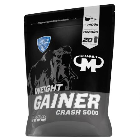 Best Body MAMMUT Weight Gainer Crash 5000 - 1400 гр