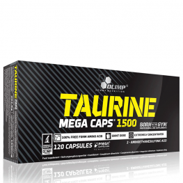 Olimp Taurine 1500 Mega caps 120 капс.