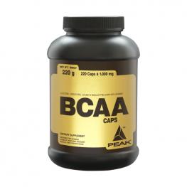 PEAK BCAA Caps - 220 капсули