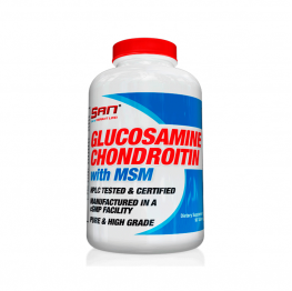SAN Glucosamine, Chondroitin and MSM - 180 таб