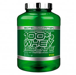 SCITEC 100% Whey Isolate - 2000 гр