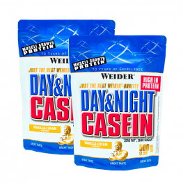 СТАК 2 бр Day and Night Casein - 500 гр