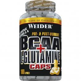 WEIDER BCAA + L-Glutamine - 180 капс