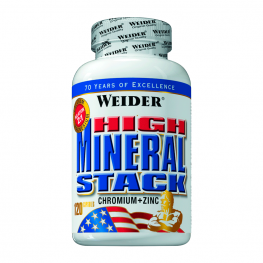 WEIDER High Mineral Stack - 120 капс