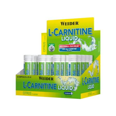 WEIDER L-Carnitine  Liquid - 20 x 25 мл