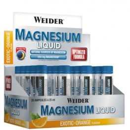 WEIDER Magnesium Liquid - 20 x 25 мл