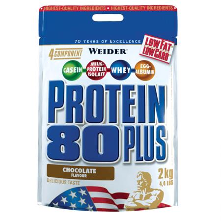 WEIDER Protein 80 Plus - 2000 гр